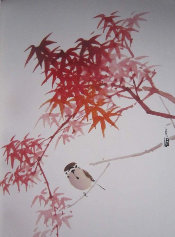 「ミライ」日本文化センターによる墨絵のワークショップ